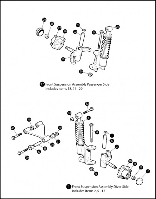 13_Front Suspension - Struts