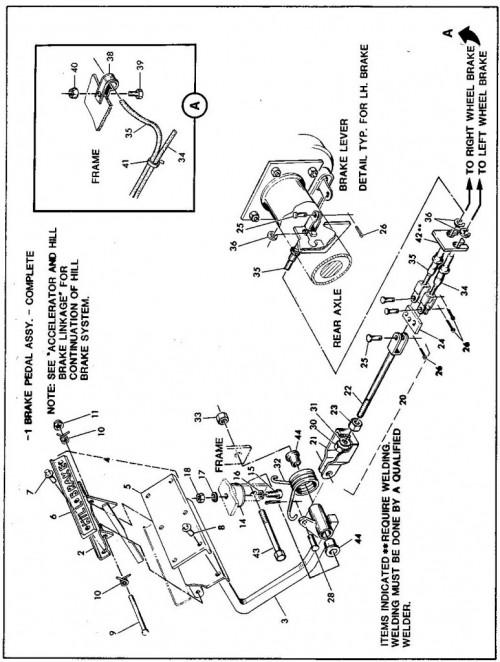 1984-1986 10_Brake linkage