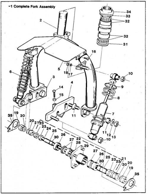 1984-1986 11_Fork assembly