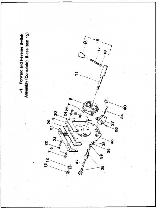 1984-1986 12_Forward and reverse switch assembly - a