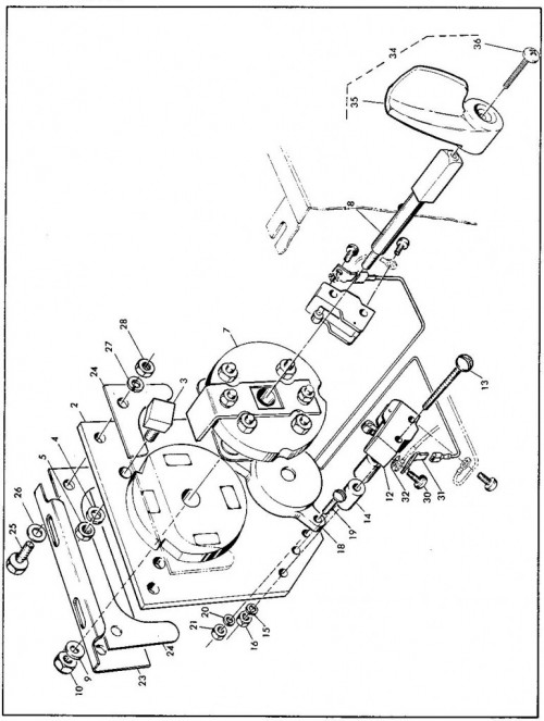 1984-1986 14_Forward and reverse switch assembly - C