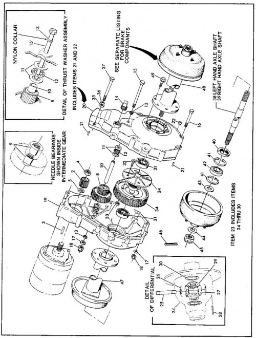 1984-1986 26_Rear axle assembly - Helical