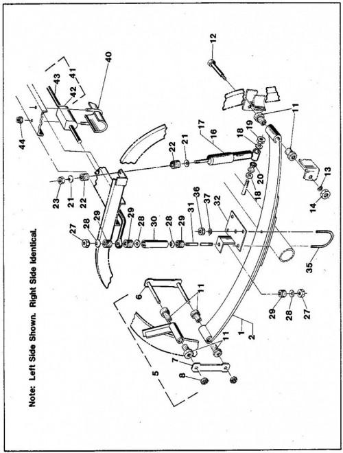 1984-1986 27_Rear suspension components (Electric car) - A