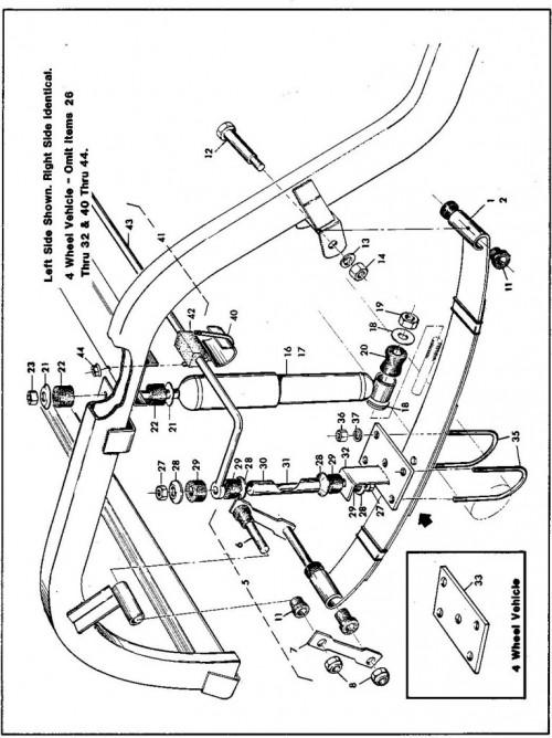 1984-1986 28_Rear suspension components (Electric car) - B