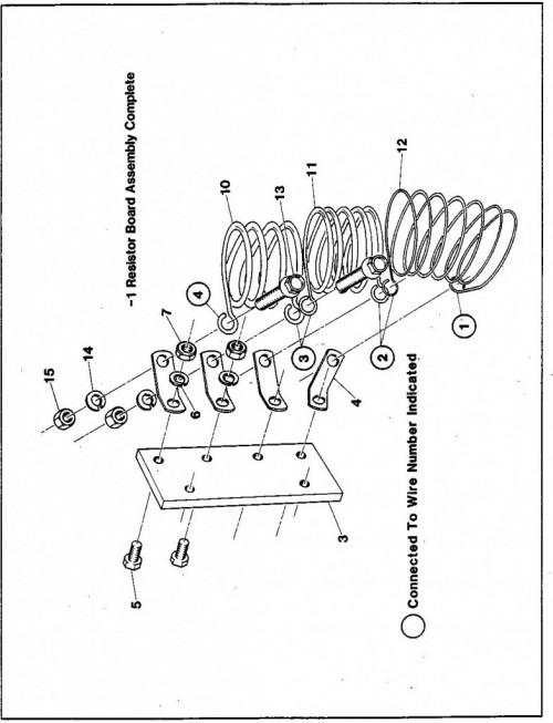 1984-1986 30_Resistor board assembly
