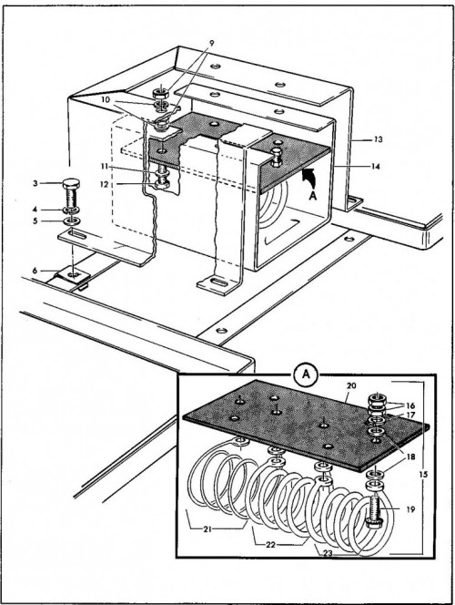 1984-1986 31_Resistor coil and housing assembly