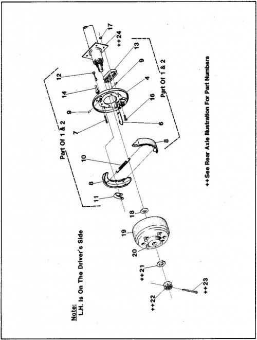1984-1986 38_Wheel brake assembly - B