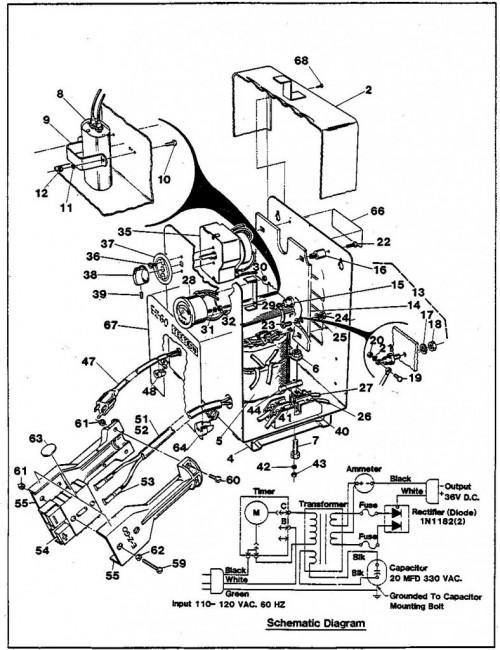 1984-1986 5_Battery charger, 36 volt (Standard) - A