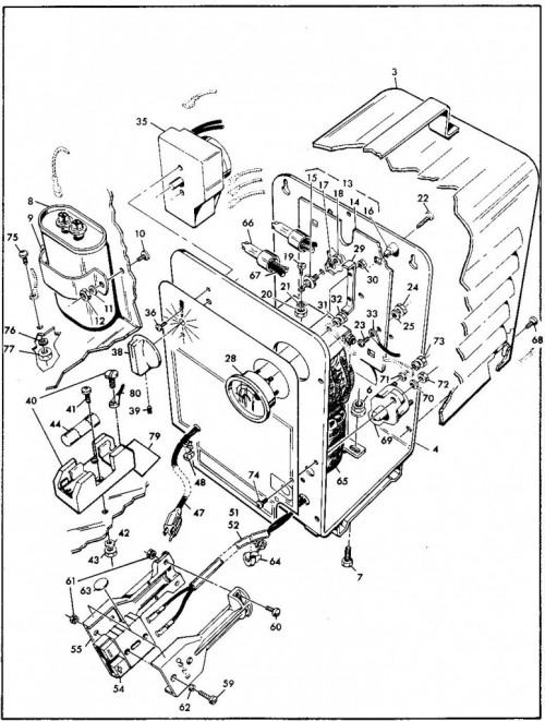 1984-1986 6_Battery charger, 36 volt (U.L) - B