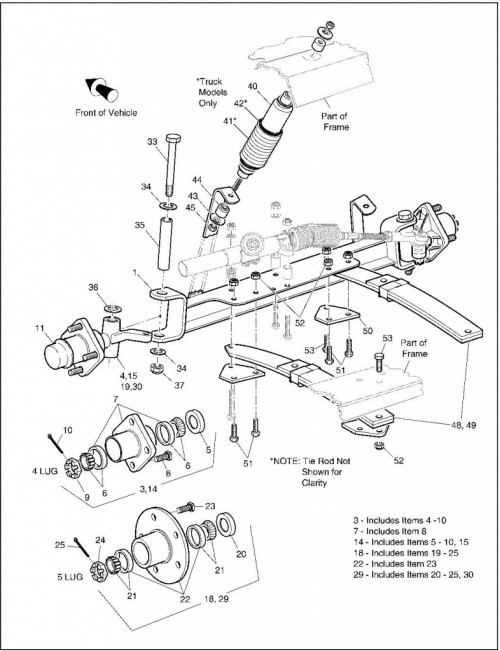 2003 Electric_20_Front Suspension Steering