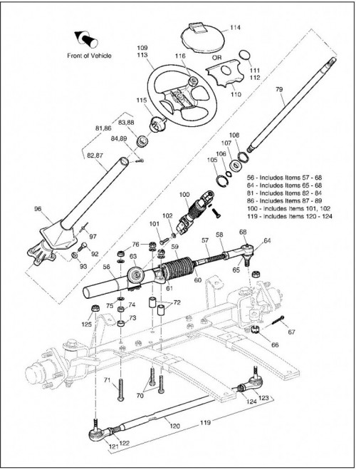 2003 Electric_20_Front Suspension Steering_2
