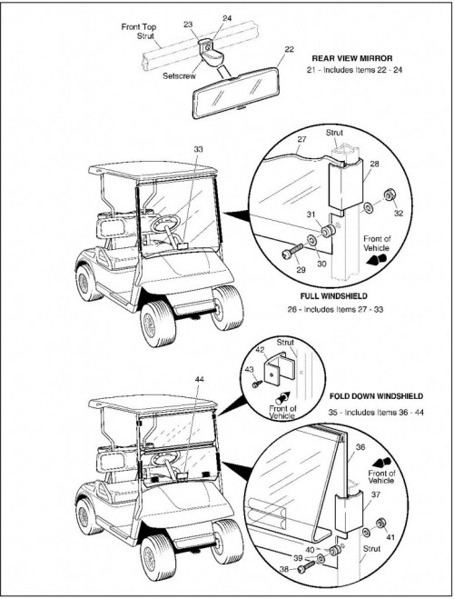 2003 Electric_29_Weather Protection - Golf Car_2