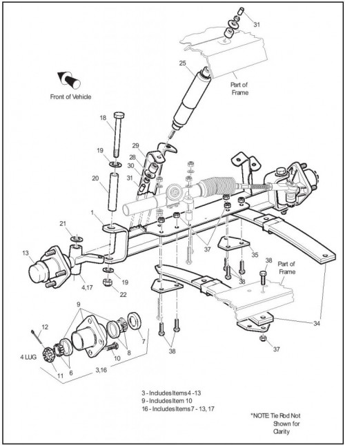 2006 Electric_16_Front suspension steering