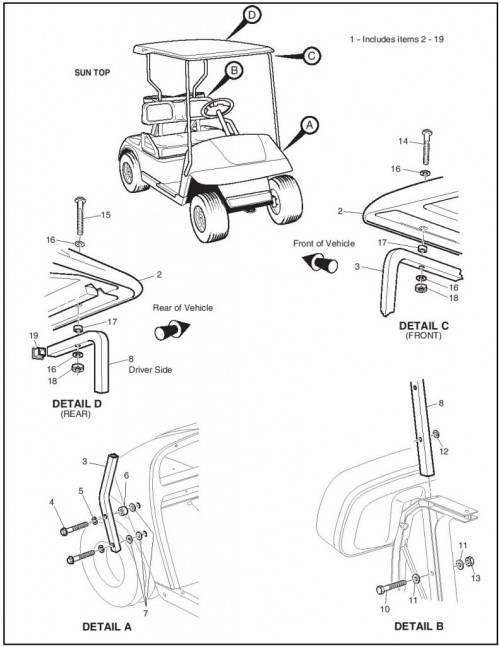 2006 Electric_22_Weather protection - golf car