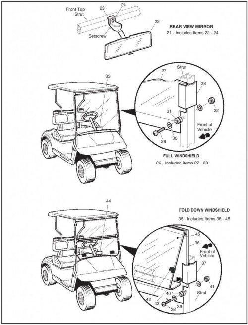 2006 Electric_22_Weather protection - golf car_2