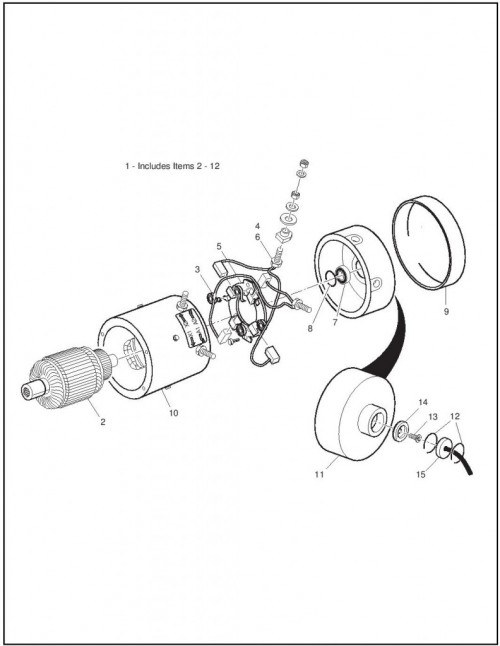 Ezgo Golf Cart Ga Engine Part Diagram