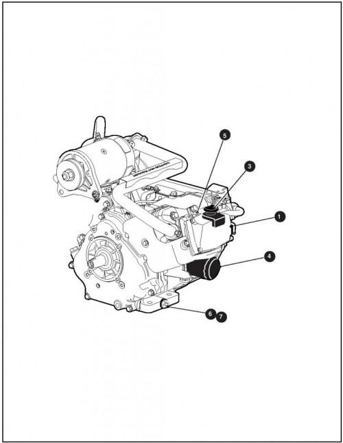 2008 Gas_13_Engine and Muffler