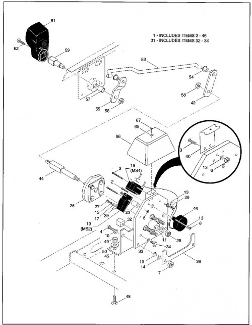 11_1994-1995 Electric Direction selector - B