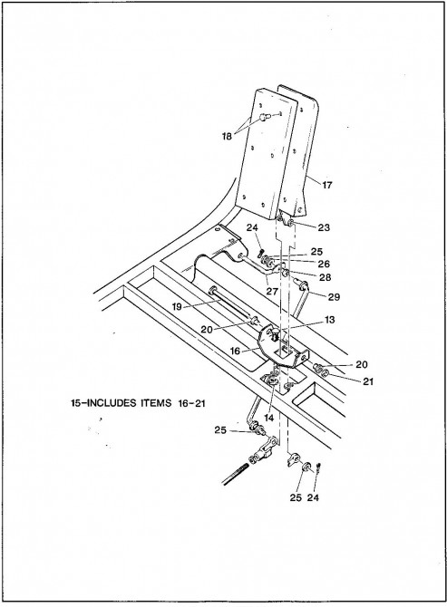 1992 Electric 1_Accelerator and Hill Brake Linkage