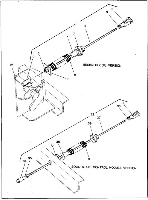 1992 Electric 1_Accelerator and Hill Brake Linkage_2