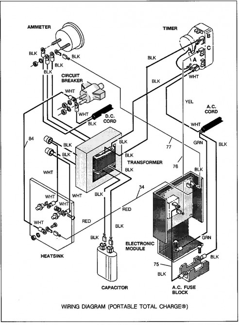 1994 ezgo 36v wiring diagram ez go cart wiring diagram