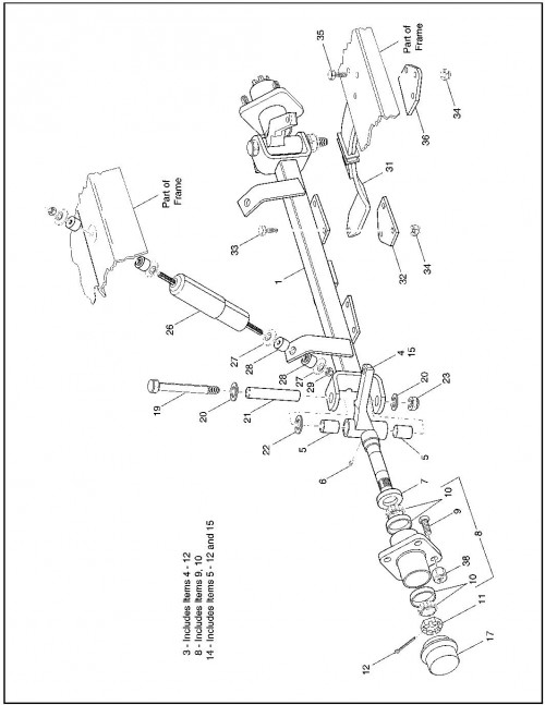 1995-2000 Gas 14_Front Suspension