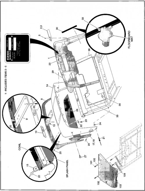 1995-2000 Gas 2_Metal Body and Associated Parts