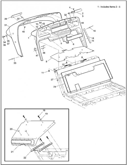 1995-2000 Gas 3_Plastic Body and Associated Parts