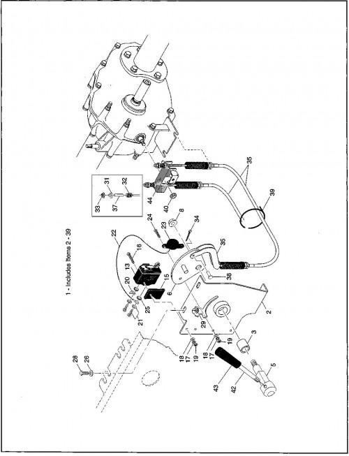 1995-2000 Gas 9_Direction selector