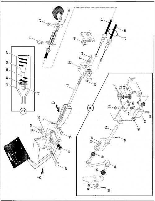 1996 Electric 5_Brake Linkage_3
