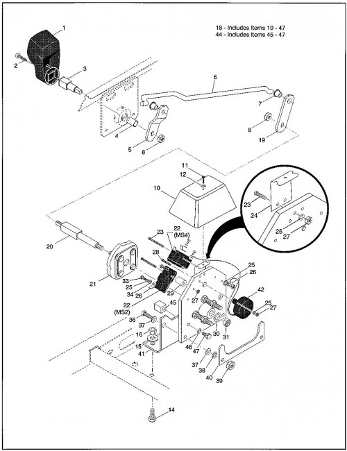1997 Electric 5_Direction Selector