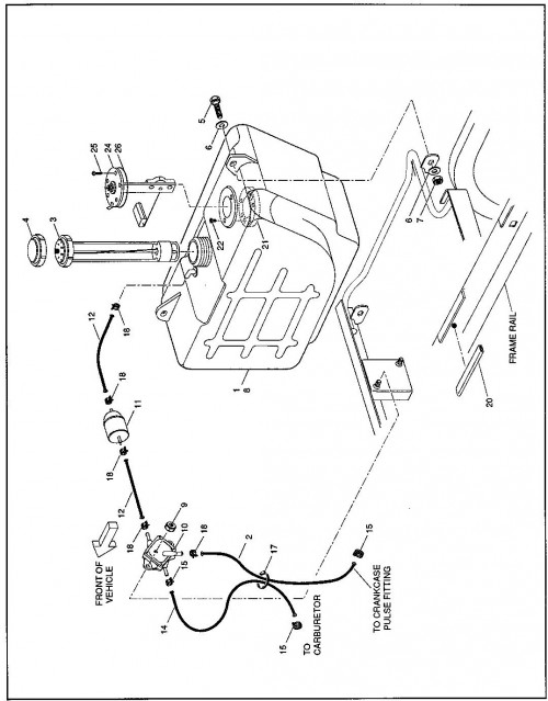Ezgo Fuel Filter
