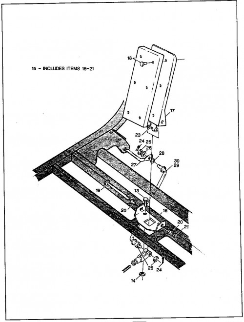 1_1989-1991 Electric Accelerator and Hill Brake Linkage