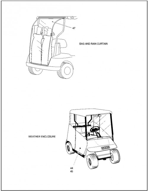 2000 Electric 22_Weather Protection - Golf Car_3