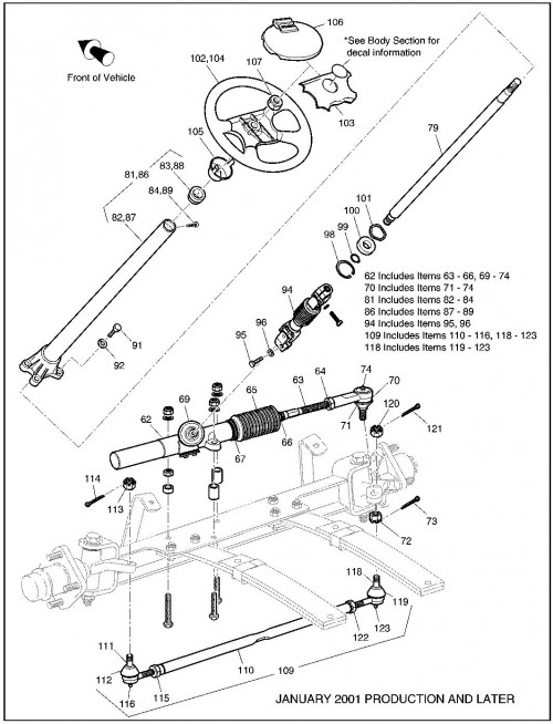 2001 Electric 14_Front suspension steering _2