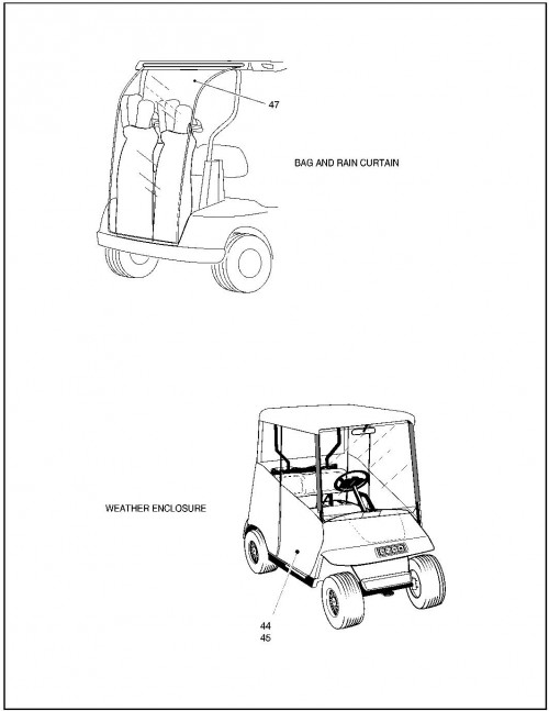 Fleet Pds Golf Cart Year 2001
