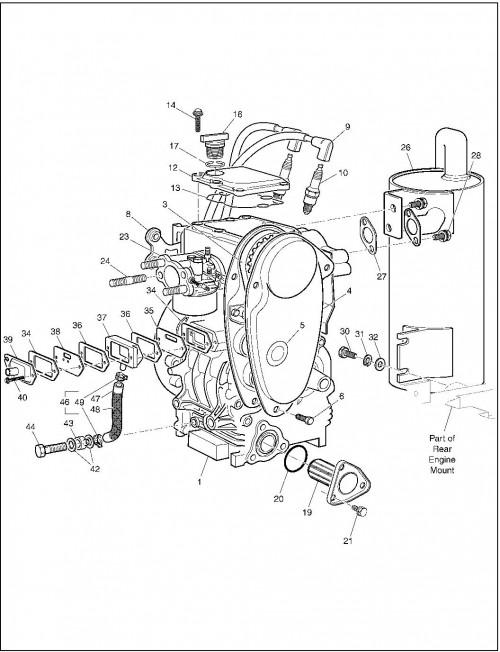 2001 Gas 13_Engine and Muffler