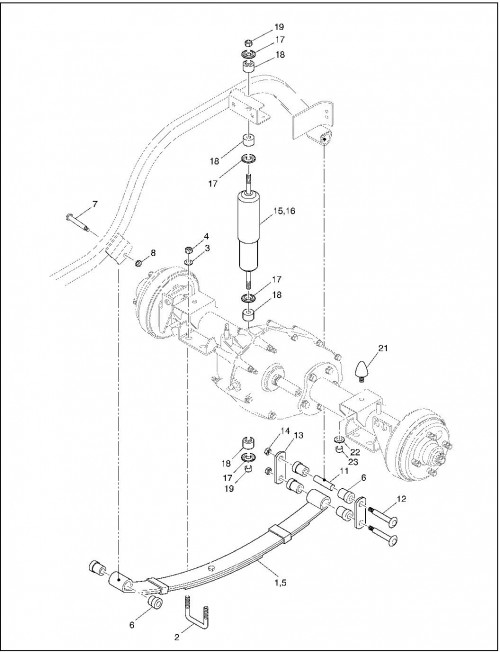 2001 Gas 20_Rear Suspension