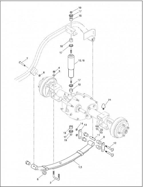 2001 Gas 20_Rear Suspension