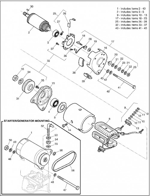 2001 Gas 23_Starter Generator