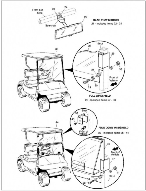 2002 Electric 22_Weather Protection - Golf Car_2