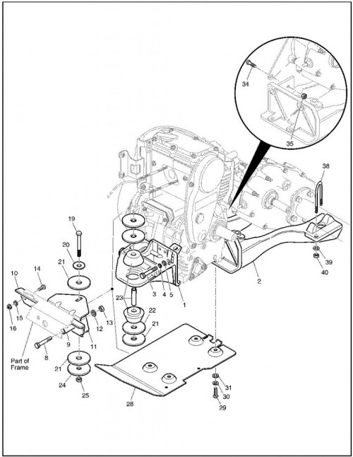 2002 Gas 12_Engine Mounting