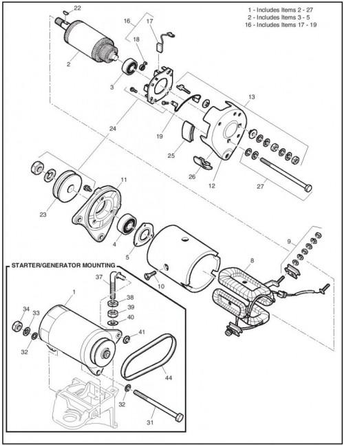 2006 GAS Freedom_26_Starter - Generator