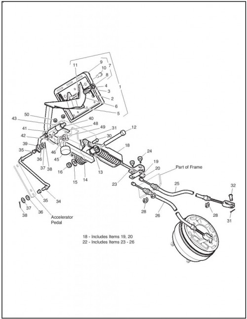 MPT 1200 | EZGO Golf Cart  Ignition Wiring Harness on