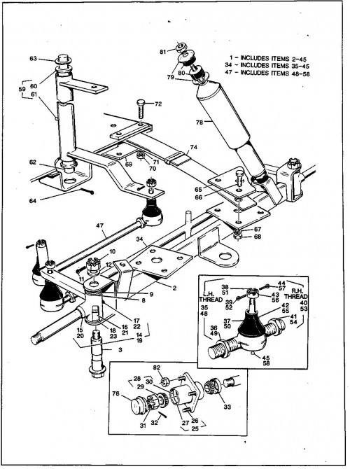 22_1989-1991 Electric and Gas Four Wheel Front Suspension - First Used for Model Year 1990