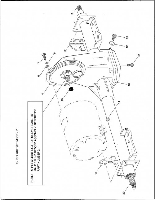 22_1994-1995 Electric Rear Axle
