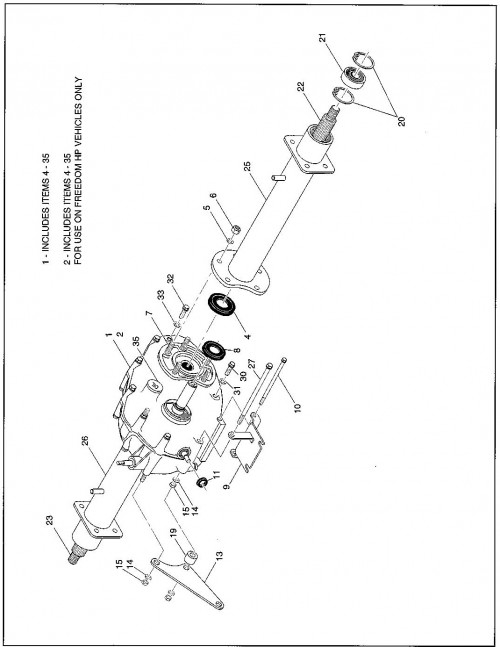 23_1994-1995 Gas Rear Axle