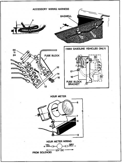 28_1989-1991 Electric and Gas Horn and Accessory Wiring