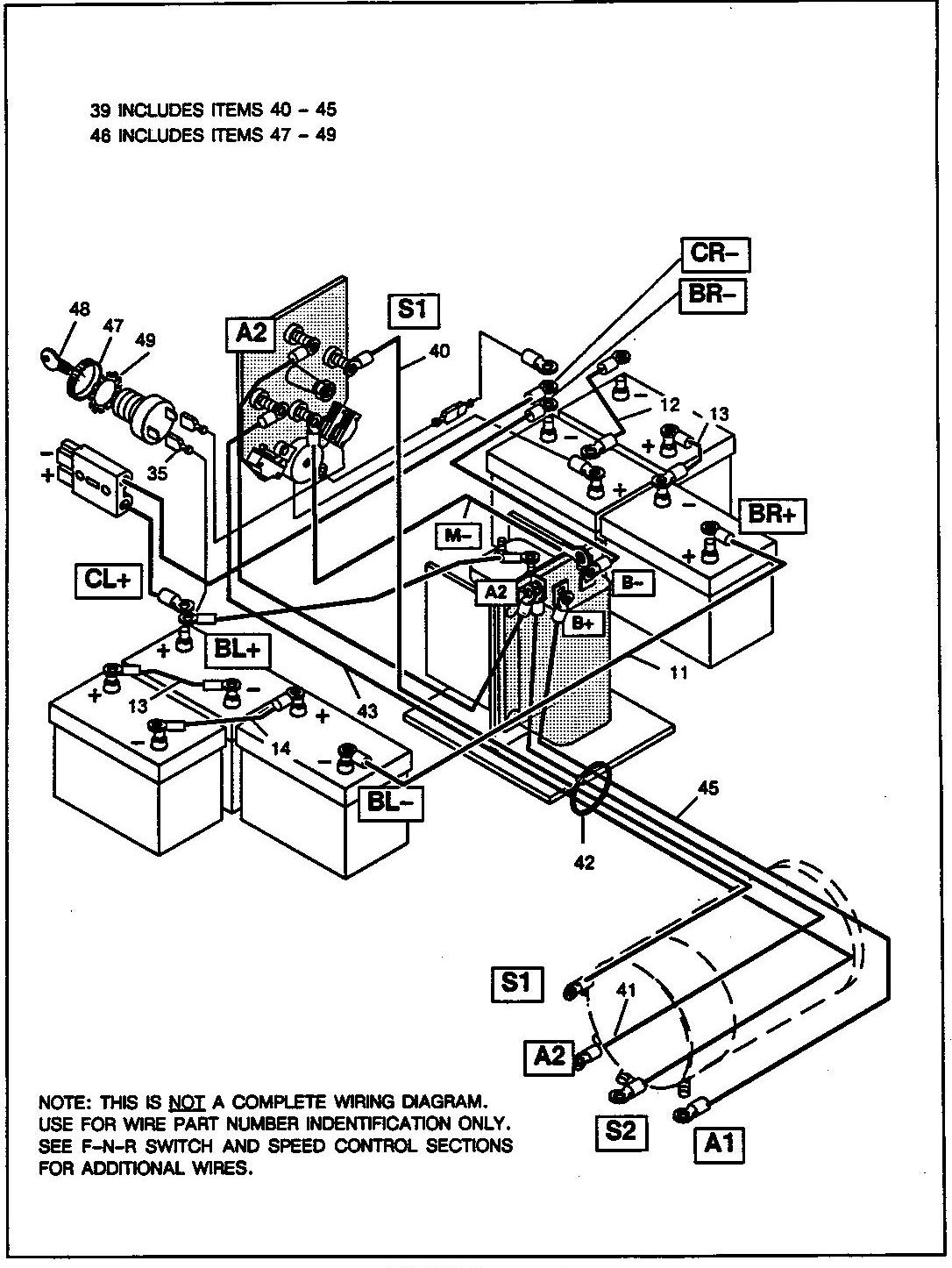 566c2f golf cart 36 volt ezgo wiring diagram f401 | wiring resources  wiring resources