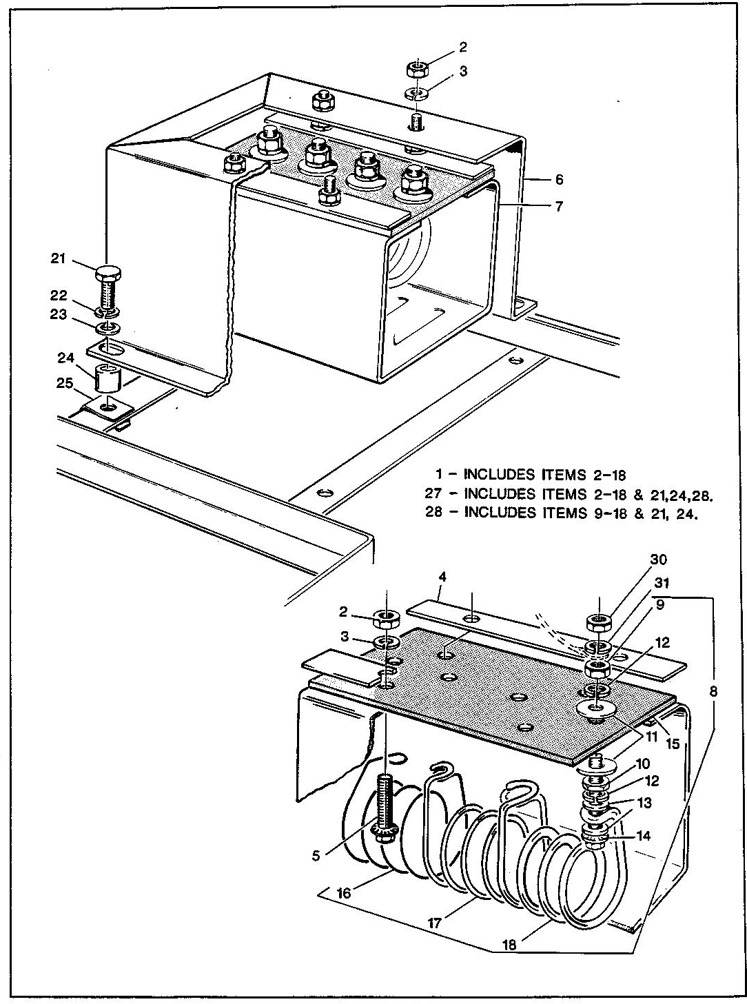 37_1989-1991 Electric Resistor Coil and Housing Assembly
